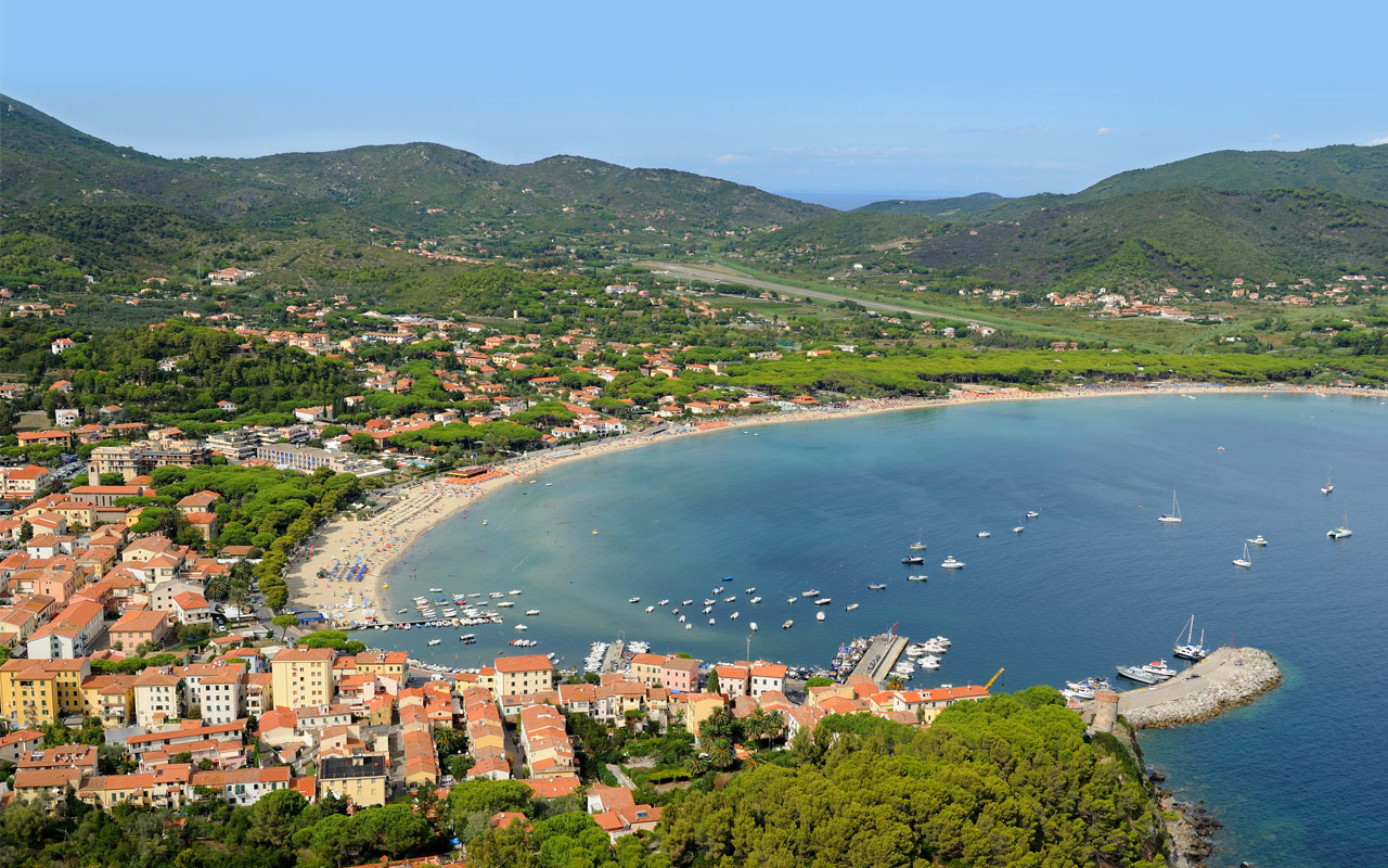 Procchio Elba Karte.1 1 Isola D Elba Giglio E Capraia 1 Settimana